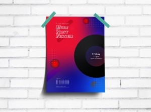 Creative Music Party Poster