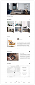 Furniture Company Website Redesign