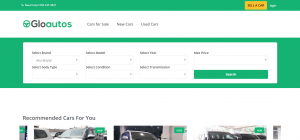 New and used car buying website