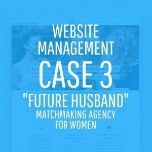 Website Management  Project Management of Future Husband